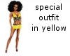 special outfit yellow