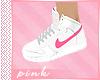 PINK-Pink Nike Sneakers