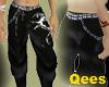 Black Dragon Pants+belt