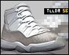"11's ""Metallic Silver"""