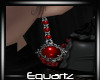 Gothic Red Earings