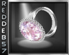 Pink Awareness Lft Ring