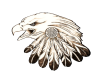 (BL)Eagle floor marker