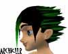 Green Streak Rain Hair