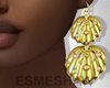 É. Shell Earrings C