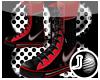 [LF] High  Kickz-Red