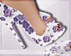Corina Purple Heels