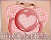 T. Valentines Pacifier
