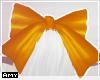 f orange bow