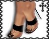 * Black Strap Heels V1
