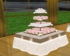 Wedding Cake Table Bege