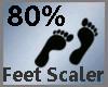 Feet Scaler 80% M