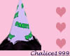 Lilac Lime Party Hat